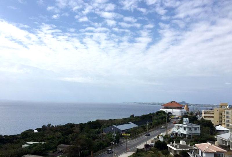 お部屋からの眺めをご紹介①ノースタワー9階