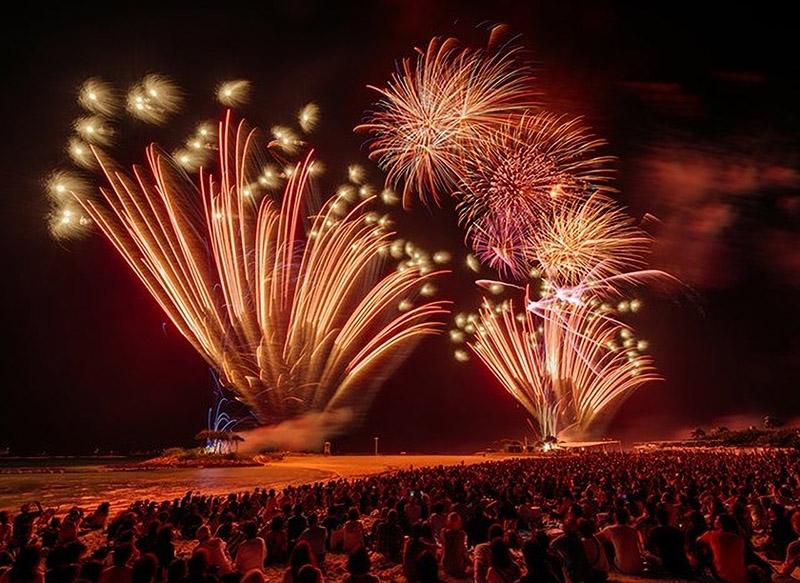7月15日 海洋博公園花火大会 交通規制について