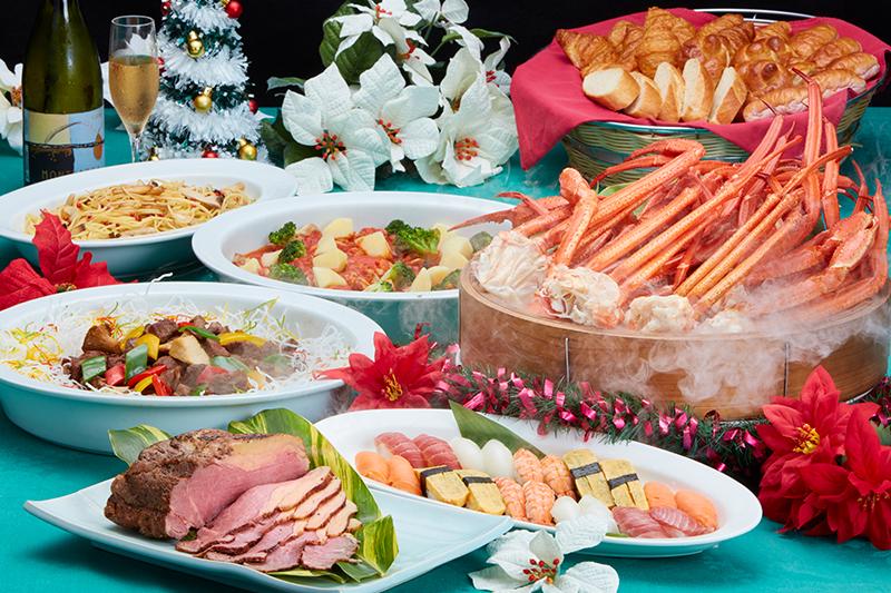 マーセンクリスマス限定ディナービュッフェ