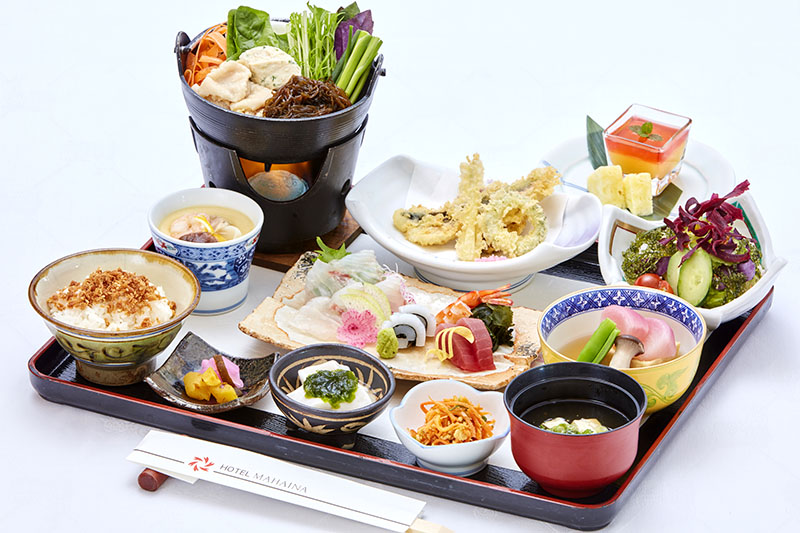 [限期供应]卖用五感尝的时令的食彩Zun食案