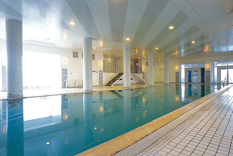 About maintenance time for indoor pool