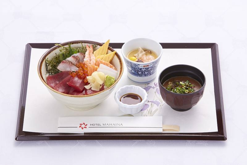 [summer limitation] Main dining Shinka lunch menu