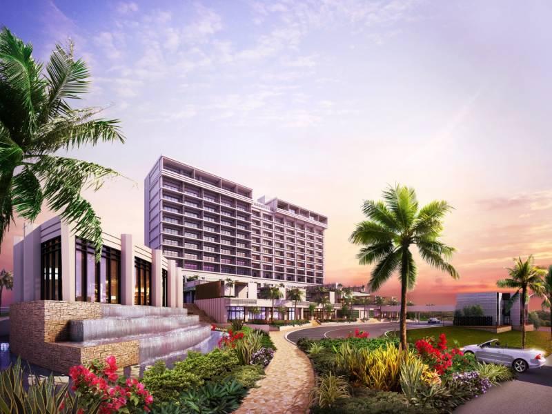 前田産業ホテルズ 商業エリアを備えた第四のリゾートホテル建設