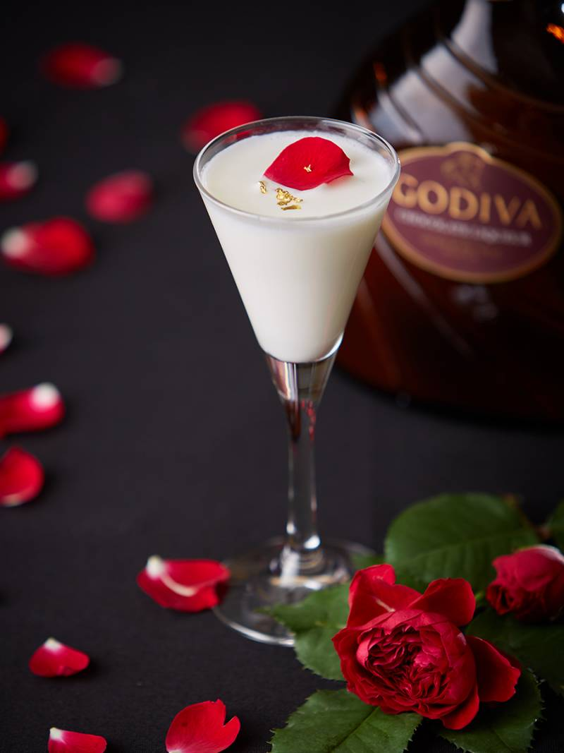 Sweet GODIVA Cocktail♡February2019