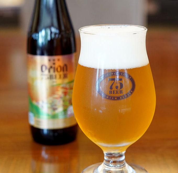 オリオンビールのプレミアムクラフトビール「75BEER IPA」のご案内