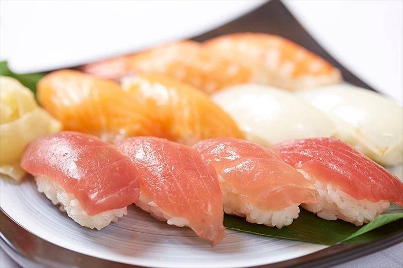 We offer nigiri sushi