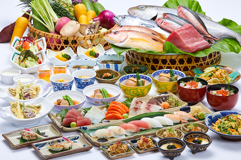 [period limitation] wa* order buffet [all-you-can-eat]