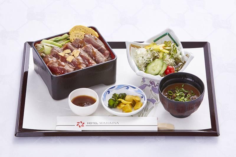 [summer limitation] Main dining Shinka lunch menu